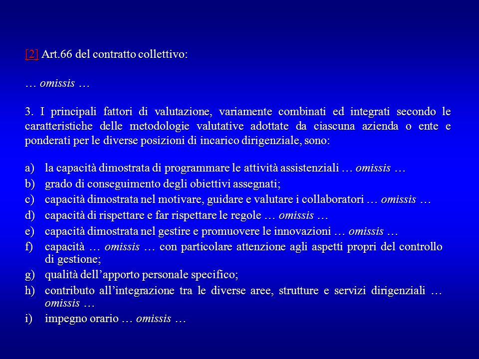 [2] Art.66 del contratto collettivo: